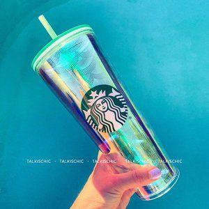 Starbucks Holographic Mermaid Siren Tumbler